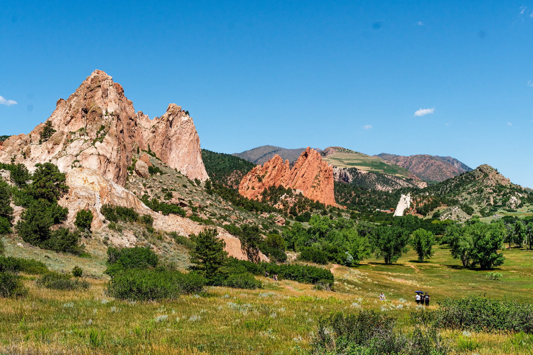 Photos from hiking in Garden of the Gods park in Colorado